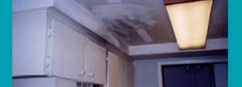 soot cleaning gone wrong on ceiling