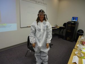 hazmat gear water damage protective wear