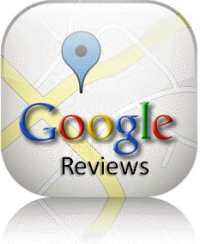 google review map button link