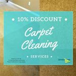 10% discount for home carpet cleaning
