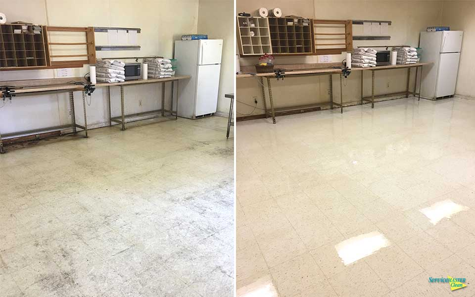 before and after VCT strip and wax