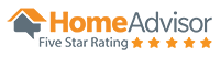 home advisor 5 star rating