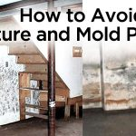 how to avoid moisture and mold problems