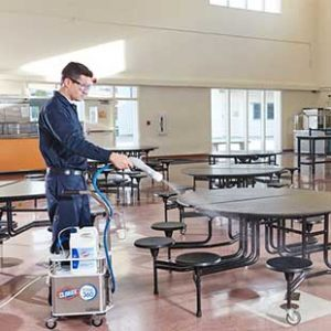 disinfect your school quickly and efficiently