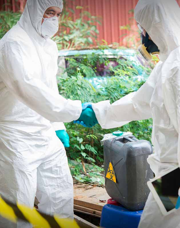 biohazard cleaning specialists