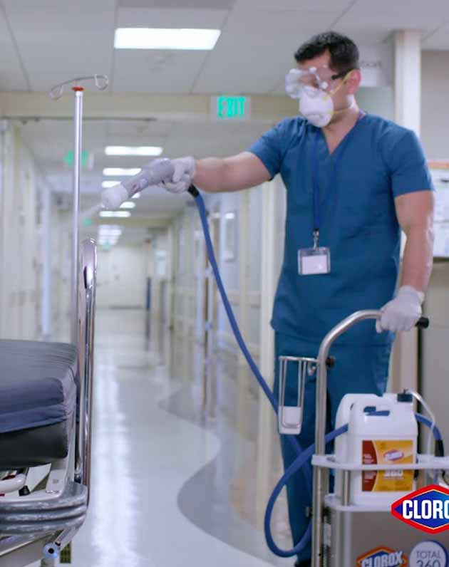 clorox total 360 disinfection service