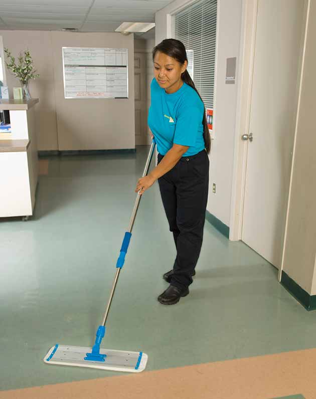 hospital janitorial cleaning staff